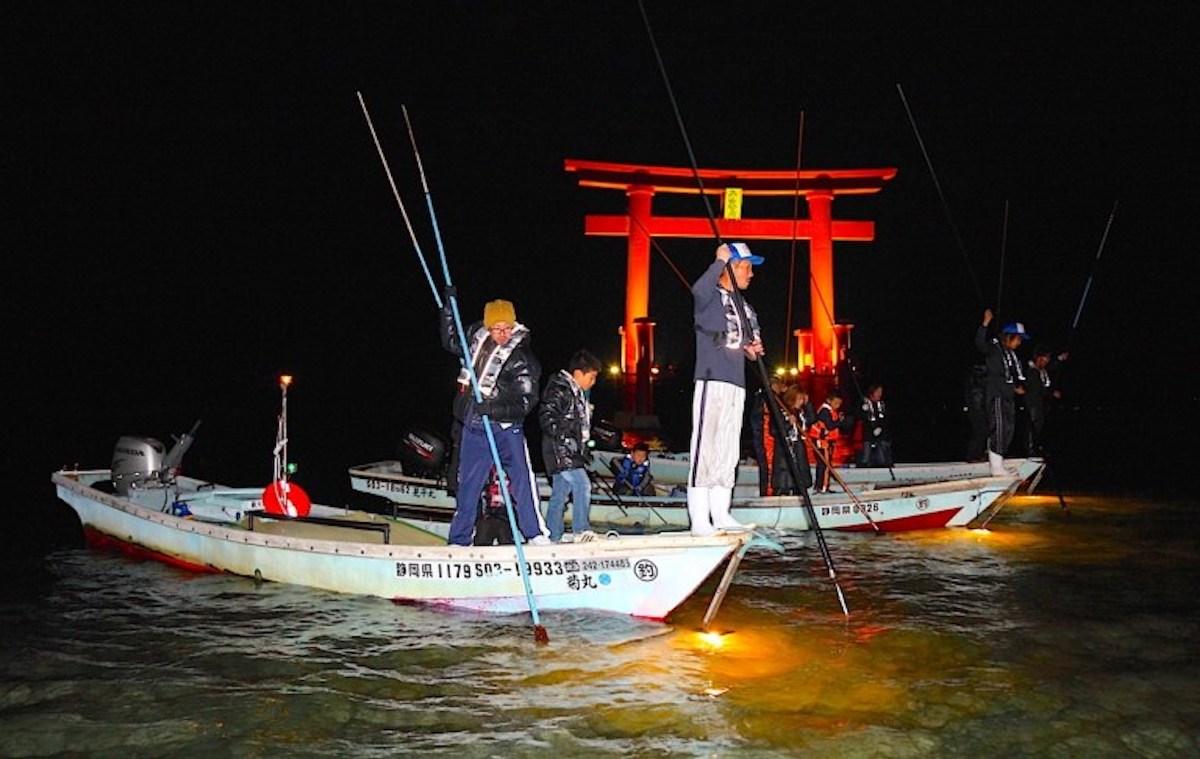 浜名湖『たきや漁』