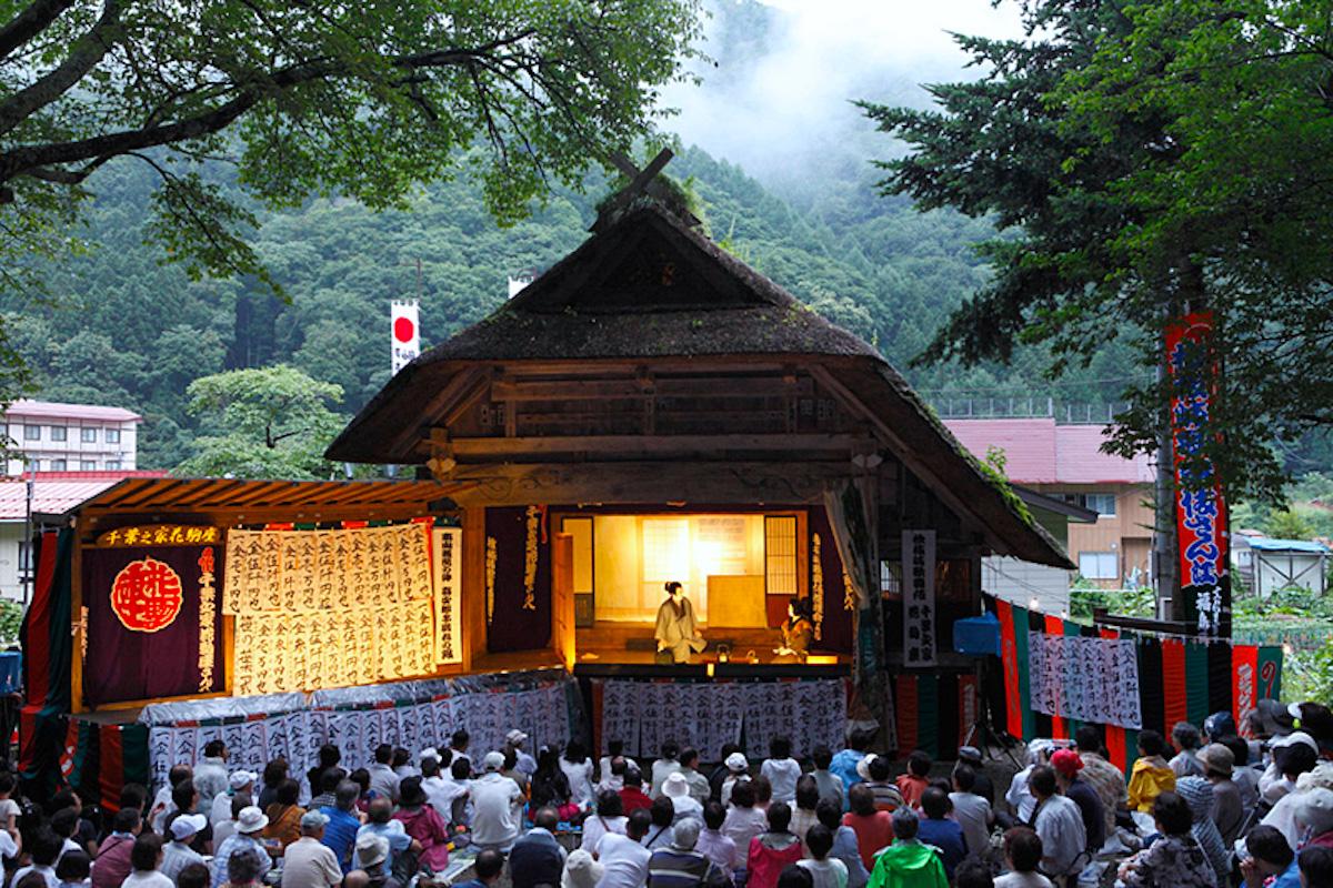 鎮守神社祭礼奉納歌舞伎