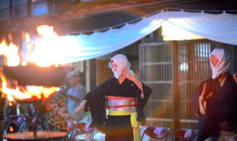 毛馬内の盆踊り