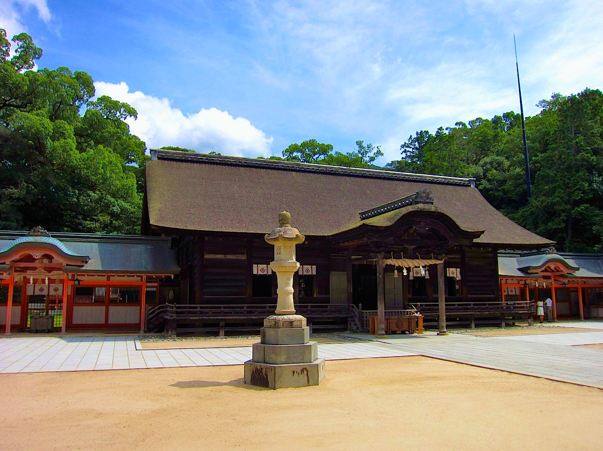 大山祇神社拝殿 (国の重要文化財)
