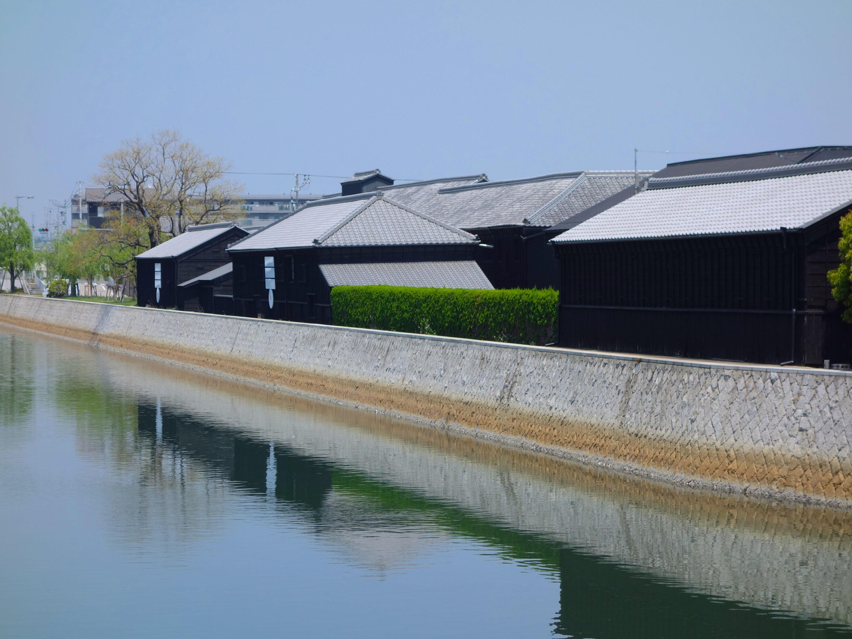 半田蔵の町並み(ミツカン工場群)