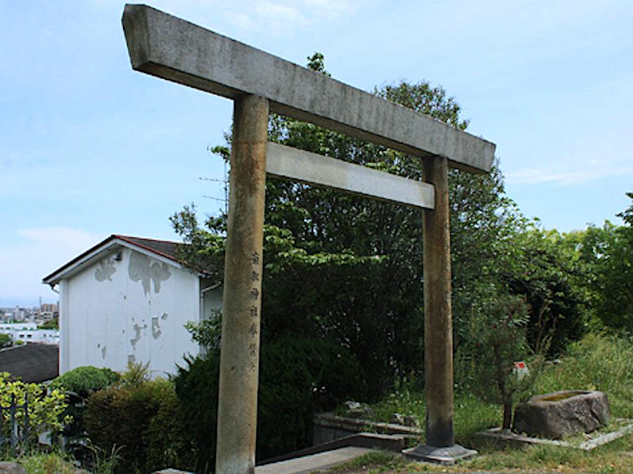 桶狭間・高根山(有松神社)