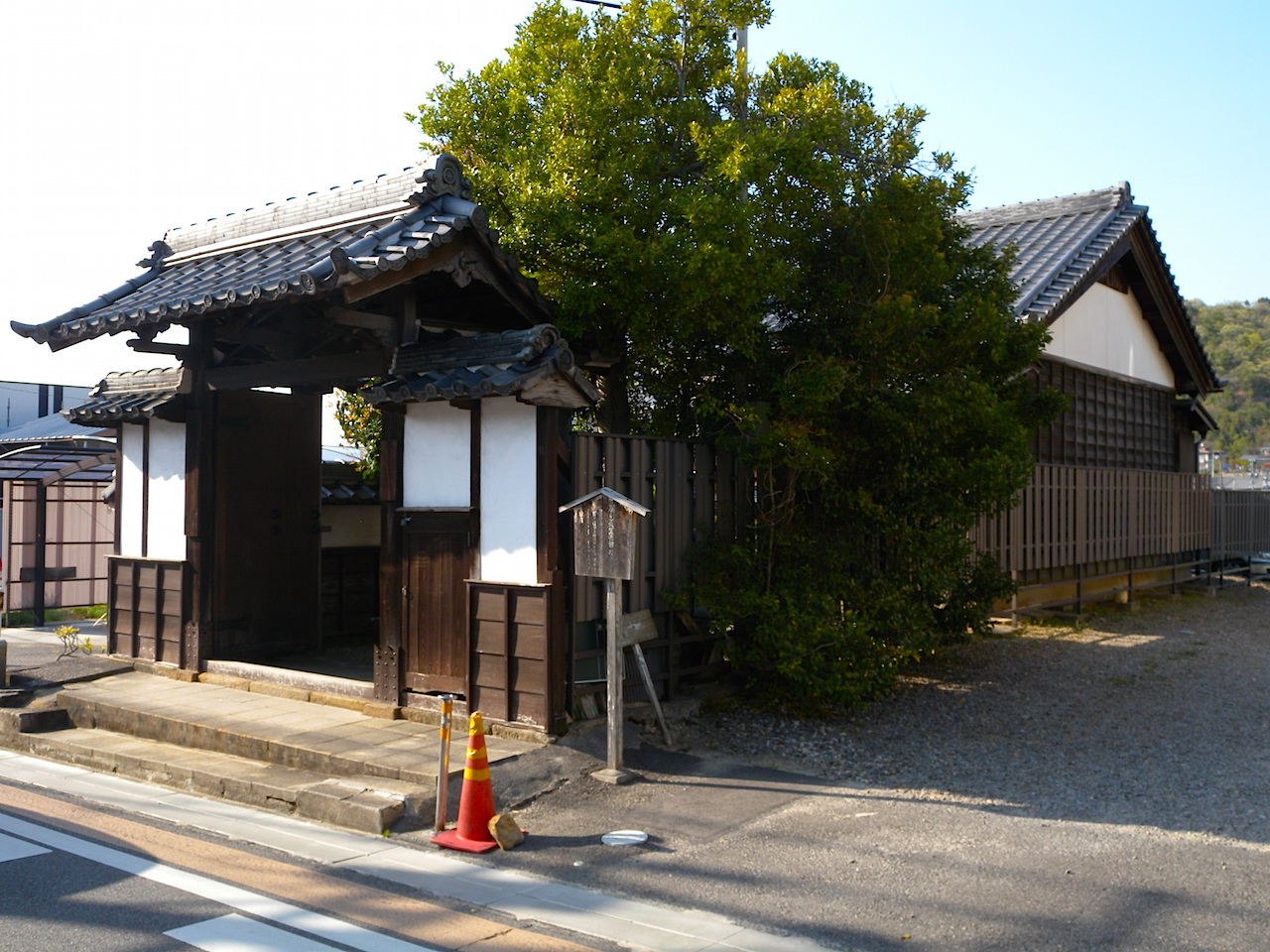 藤川宿資料館(脇本陣跡)