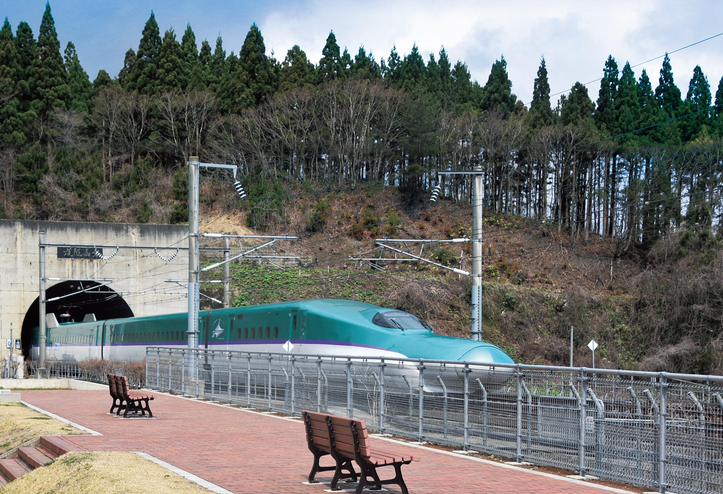 青函トンネル入口広場