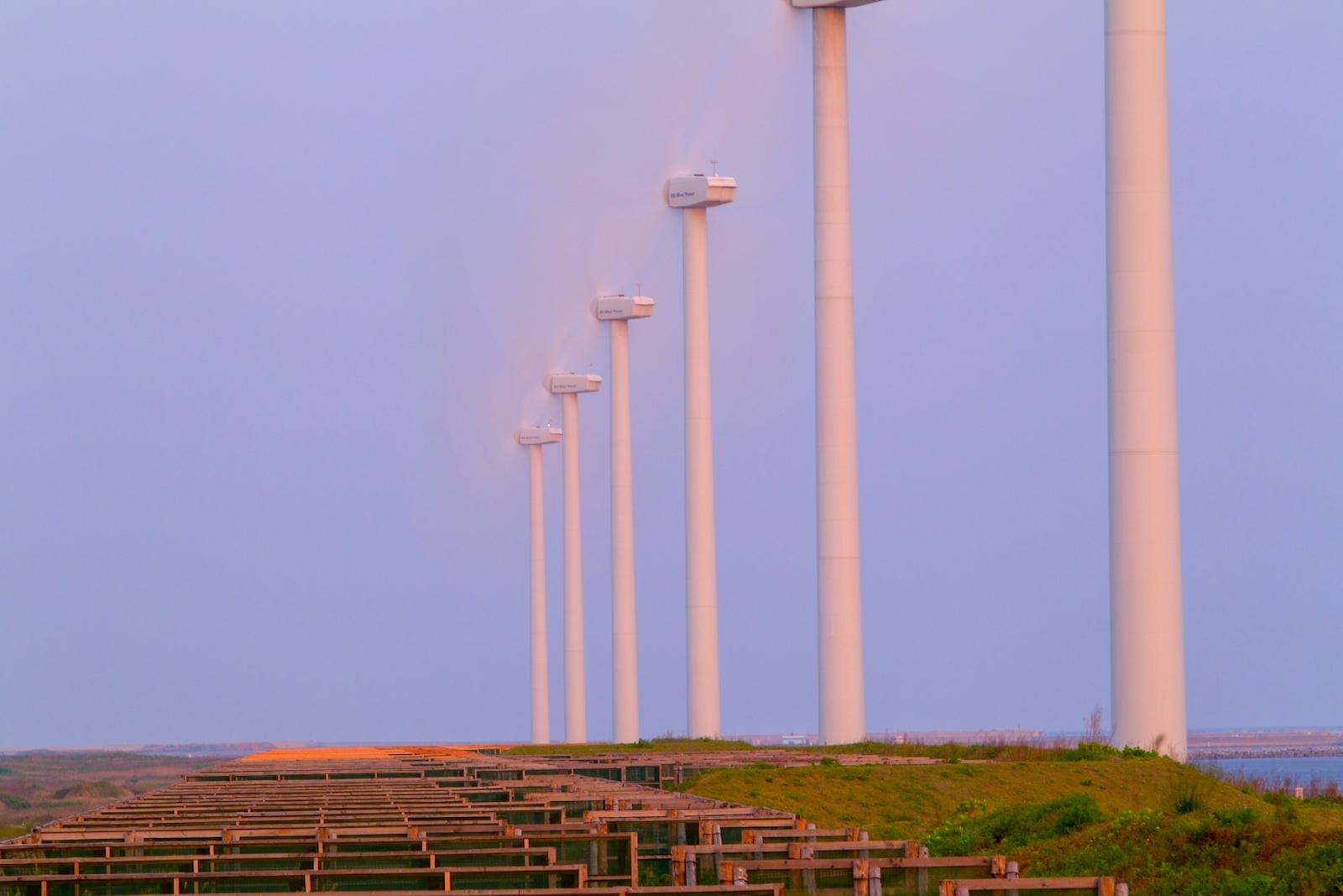響灘風力発電施設