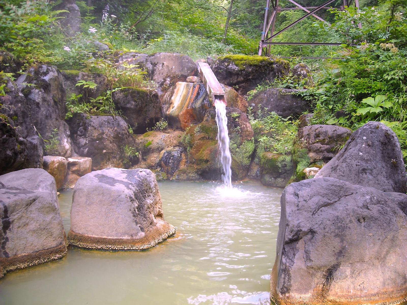 濁河温泉市営露天風呂