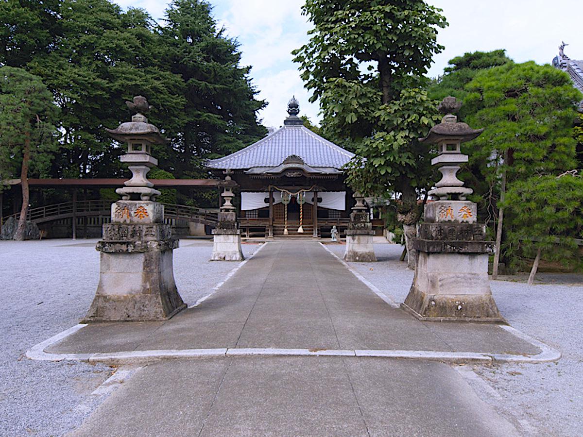 反町館跡(照明寺)