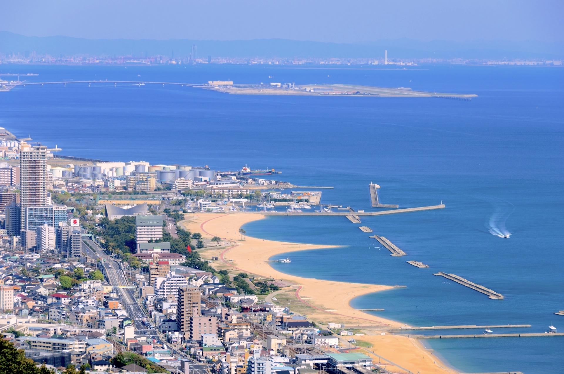 須磨海浜公園(須磨海水浴場)