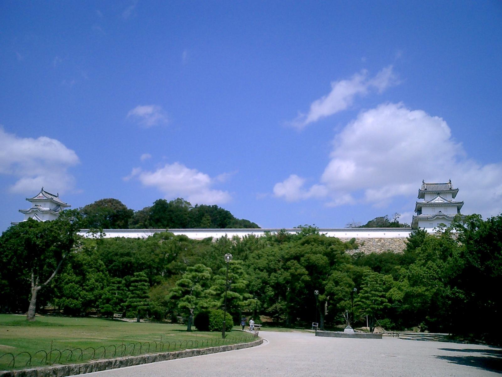 県立明石公園(明石城跡)