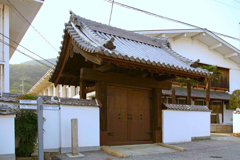 龍野藩家老門