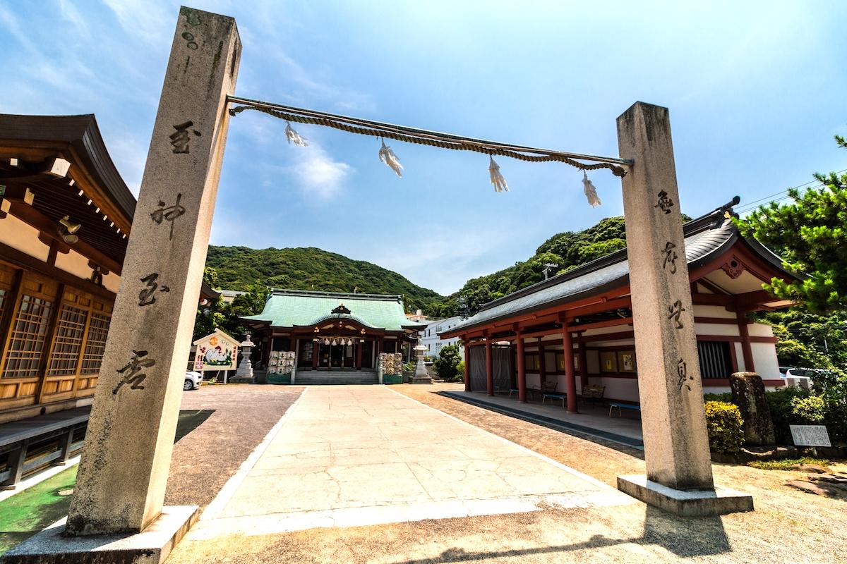 厳島神社(淡路島弁財天)