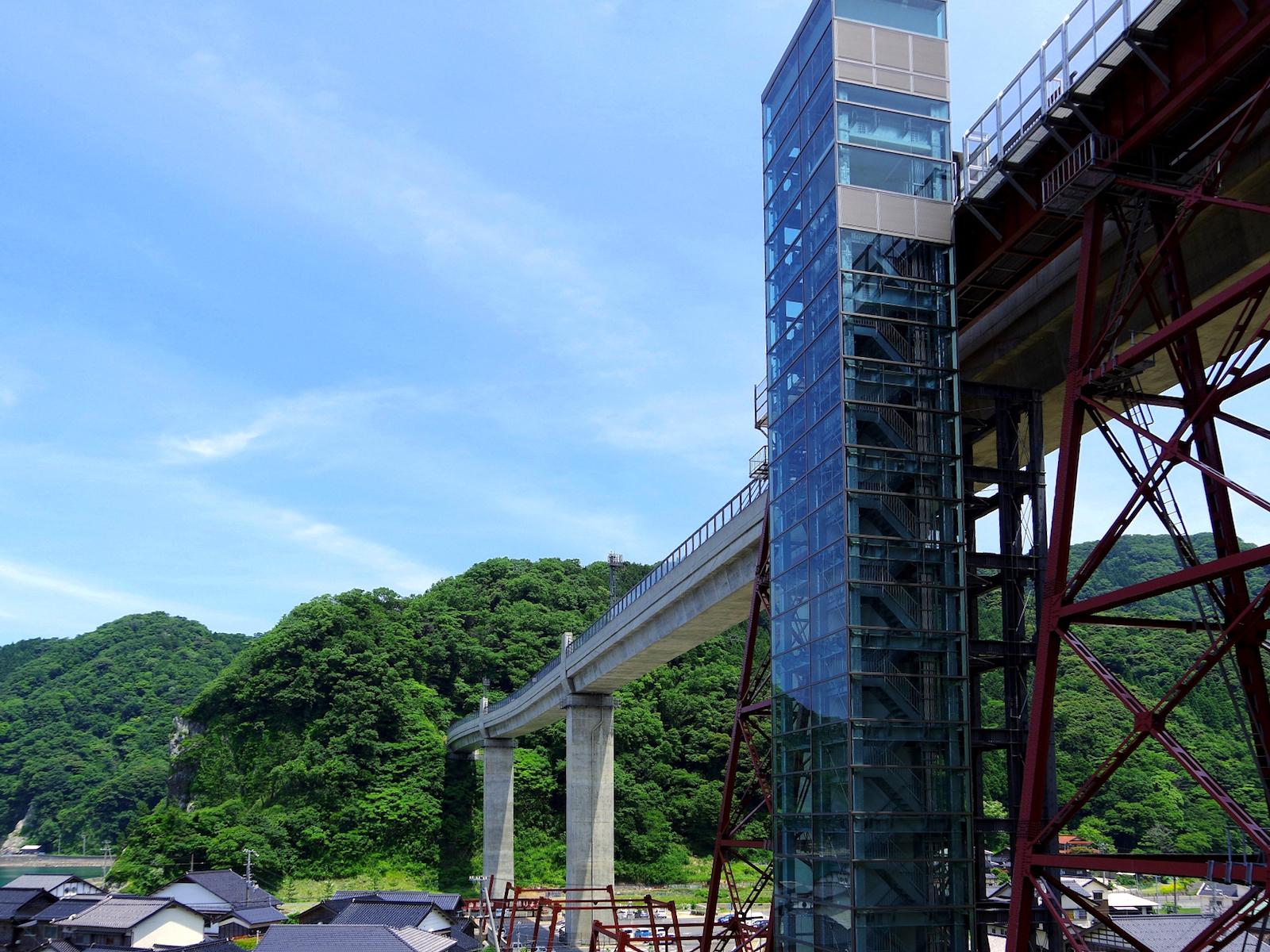 余部鉄橋「空の駅」展望施設