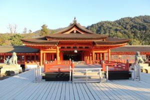 厳島神社・平舞台