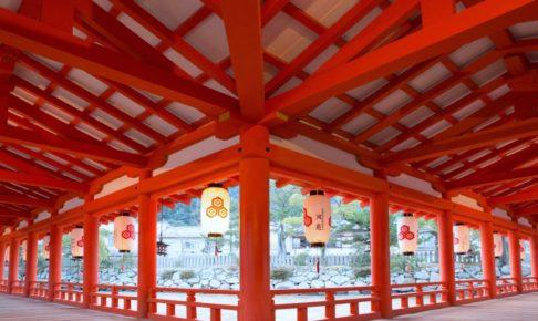厳島神社・廻廊