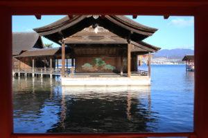 厳島神社・能舞台