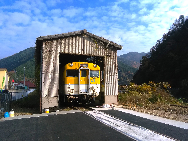 JR可部線加計駅跡