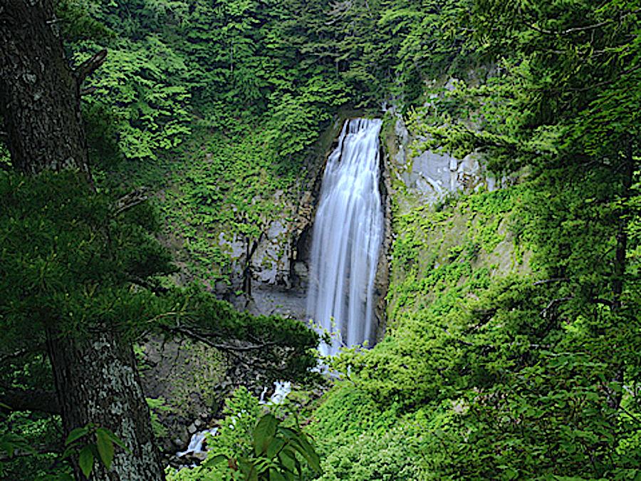 モーカケの滝展望台