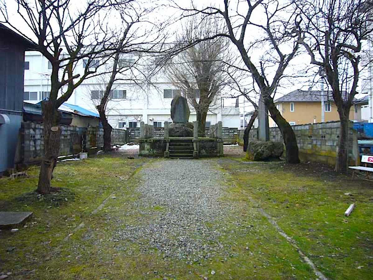 直江兼続屋敷跡(山鹿素行誕生地)