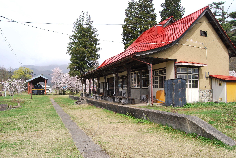 日中線記念館(旧熱塩駅)