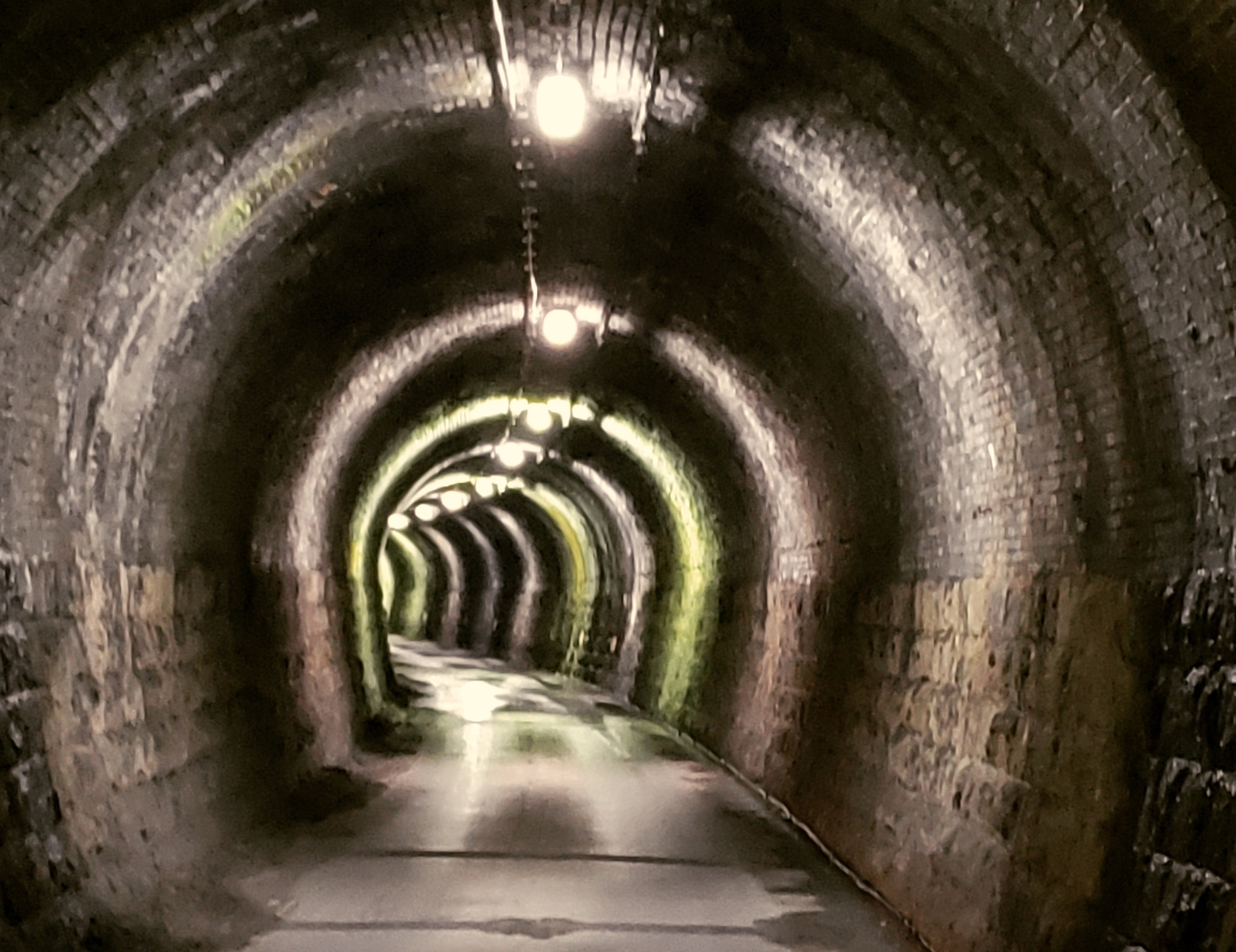 旧北陸線曲谷トンネル