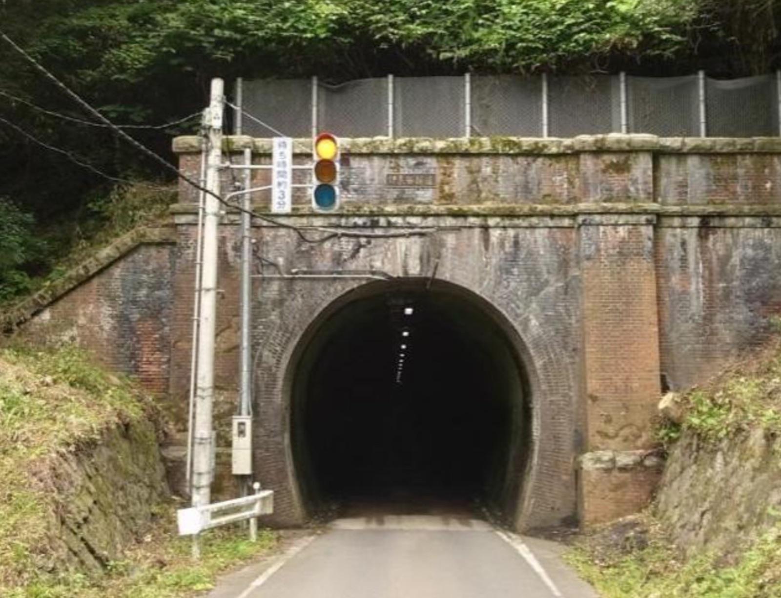伊良谷トンネル(旧北陸線トンネル群)
