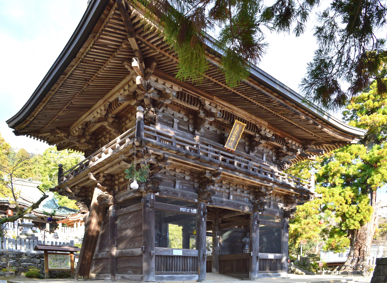 筑波山神社随神門(旧中禅寺仁王門)