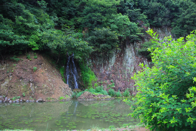 栗林公園・桶樋滝