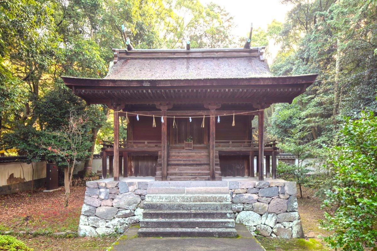 神谷神社・本殿