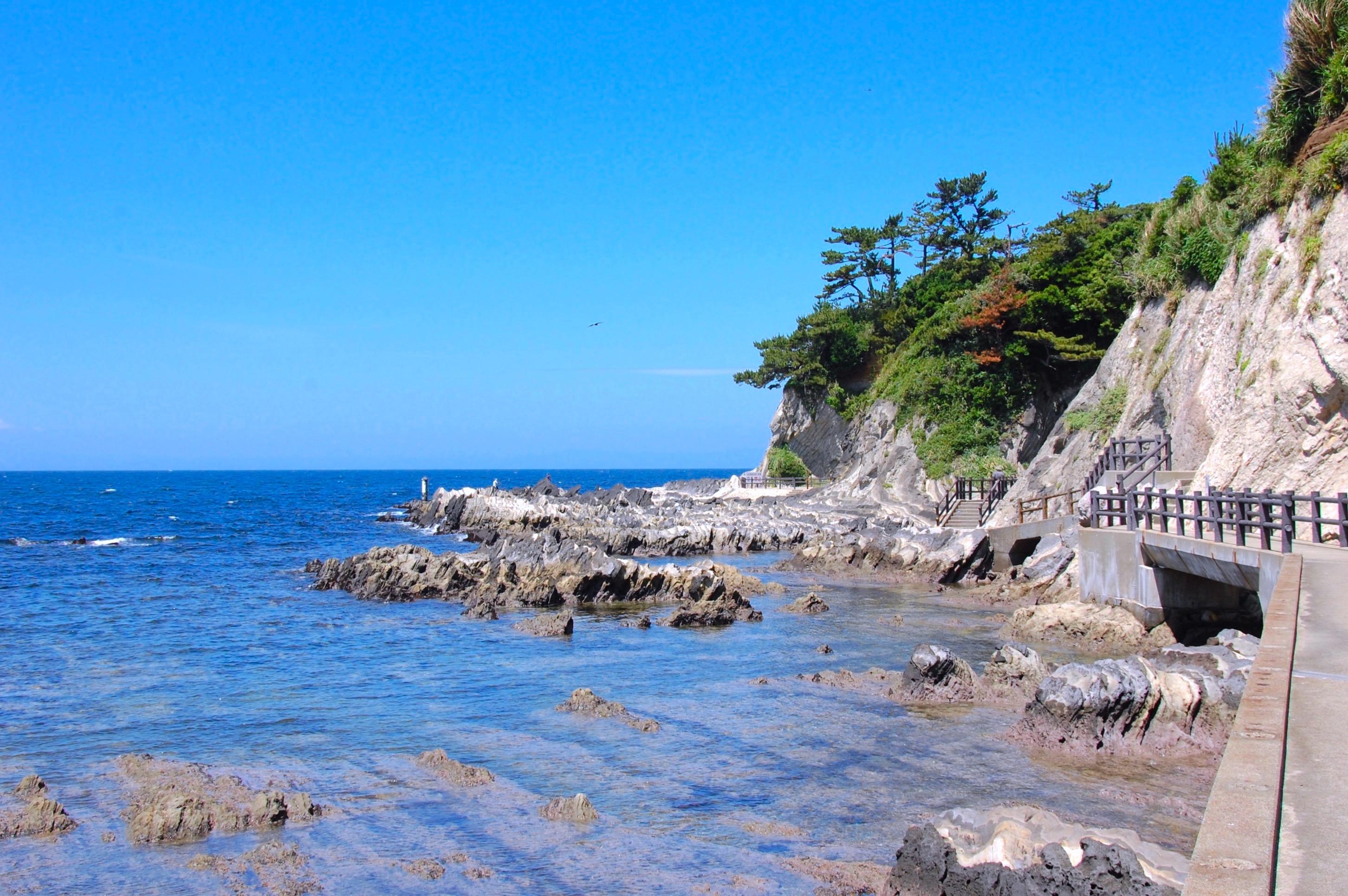 荒崎海岸(荒崎シーサイドハイキングコース)