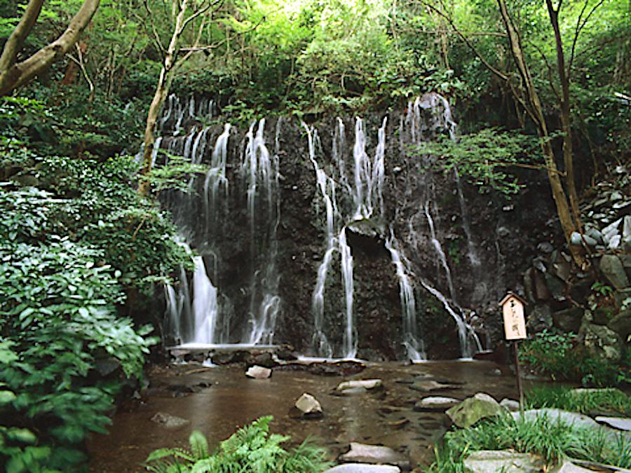 玉簾の滝・飛烟の滝