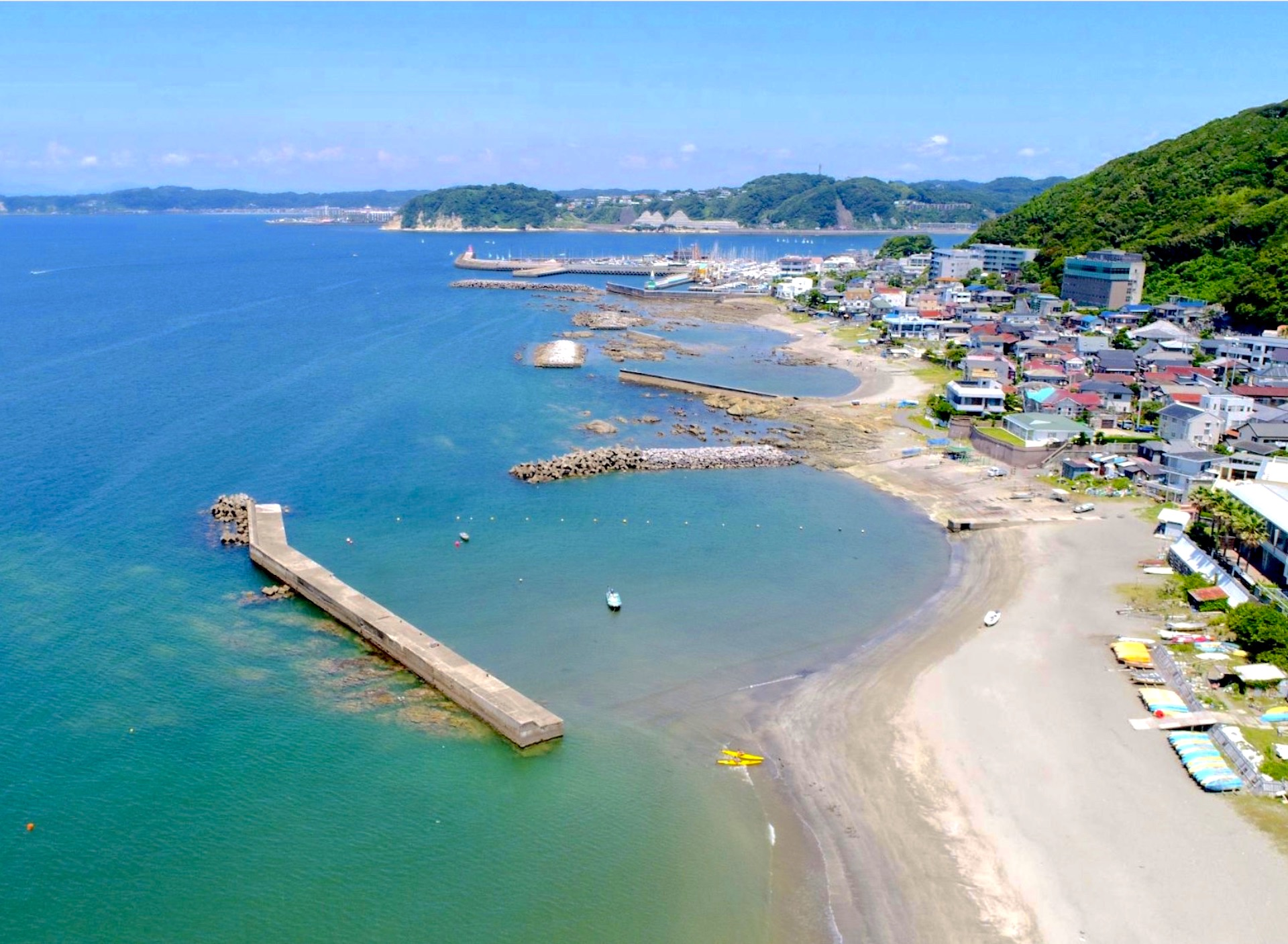 森戸海岸(森戸海水浴場)