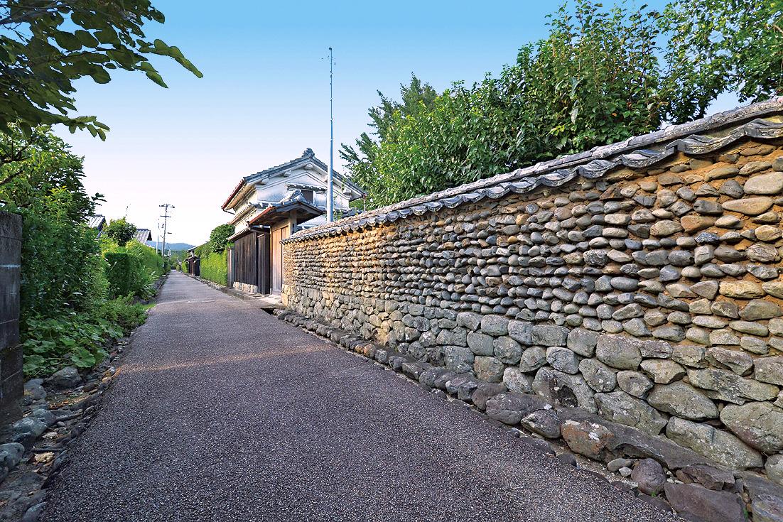 土居廓中(安芸市土居廓中伝統的建造物群保存地区)