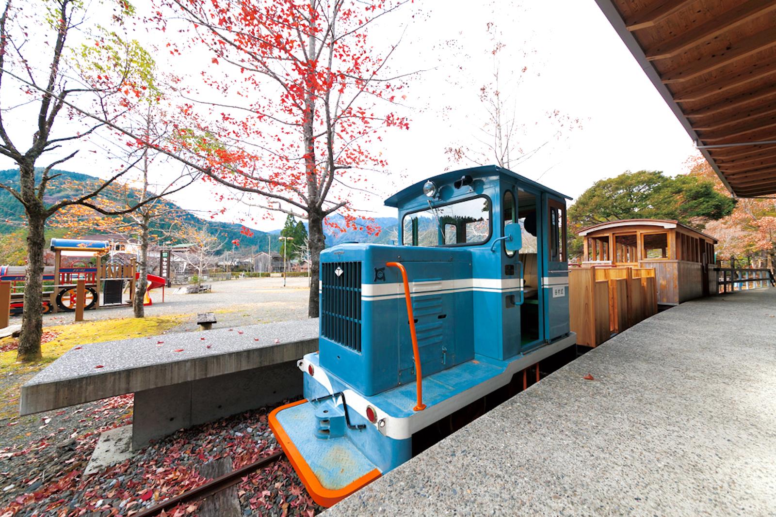 魚梁瀬丸山公園(森林鉄道)