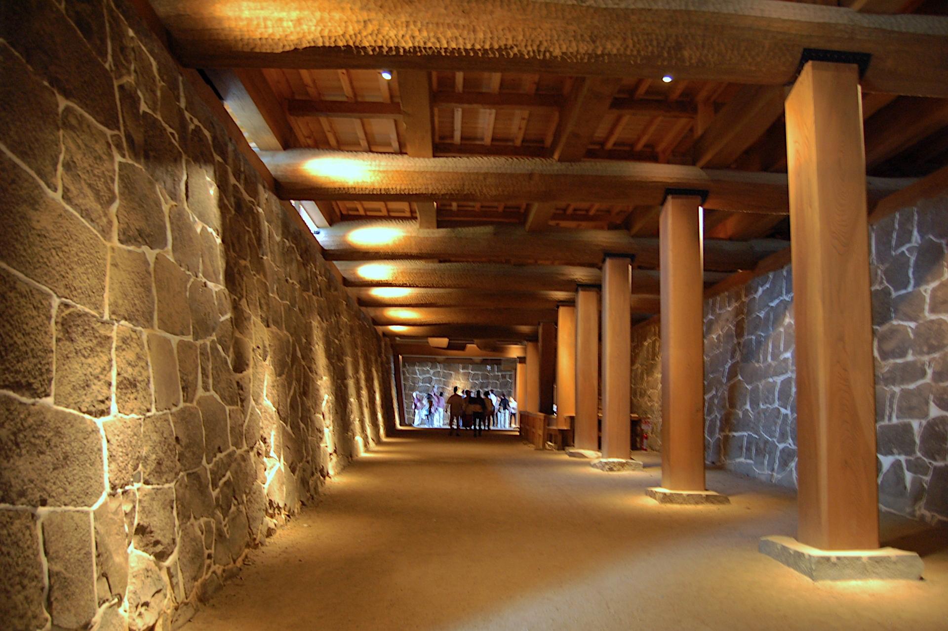 熊本城・闇り通路