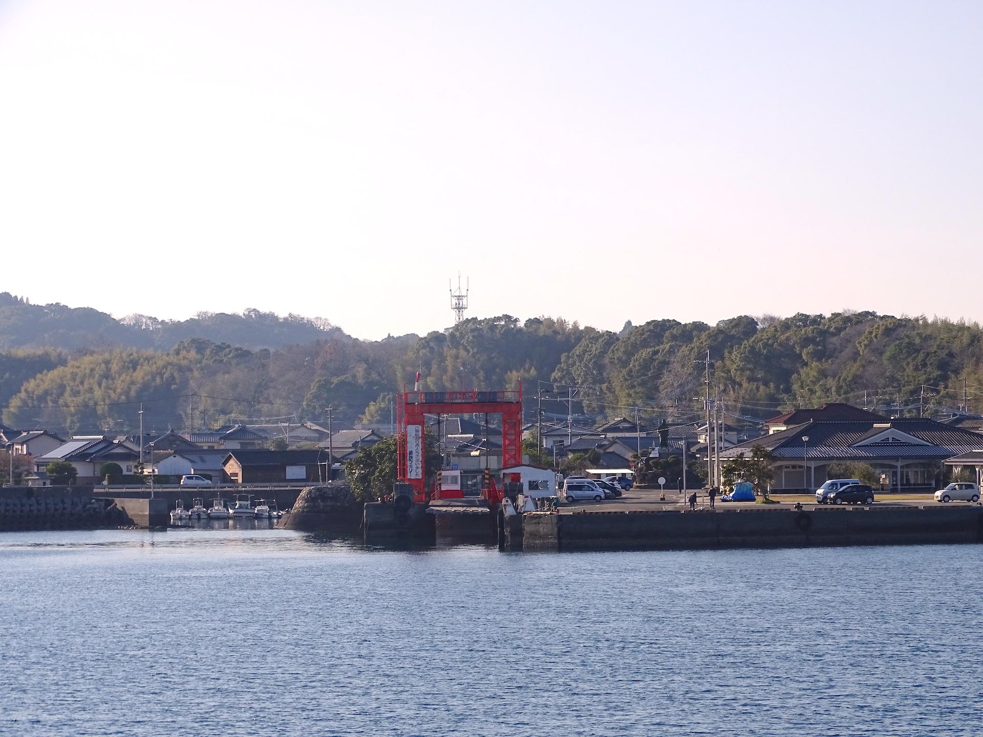 島鉄フェリー(鬼池港)