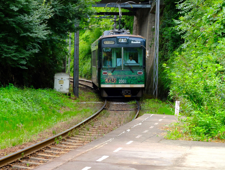 京福電気鉄道北野線