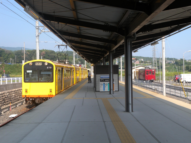 三岐鉄道北勢線阿下喜駅(軽便鉄道博物館)