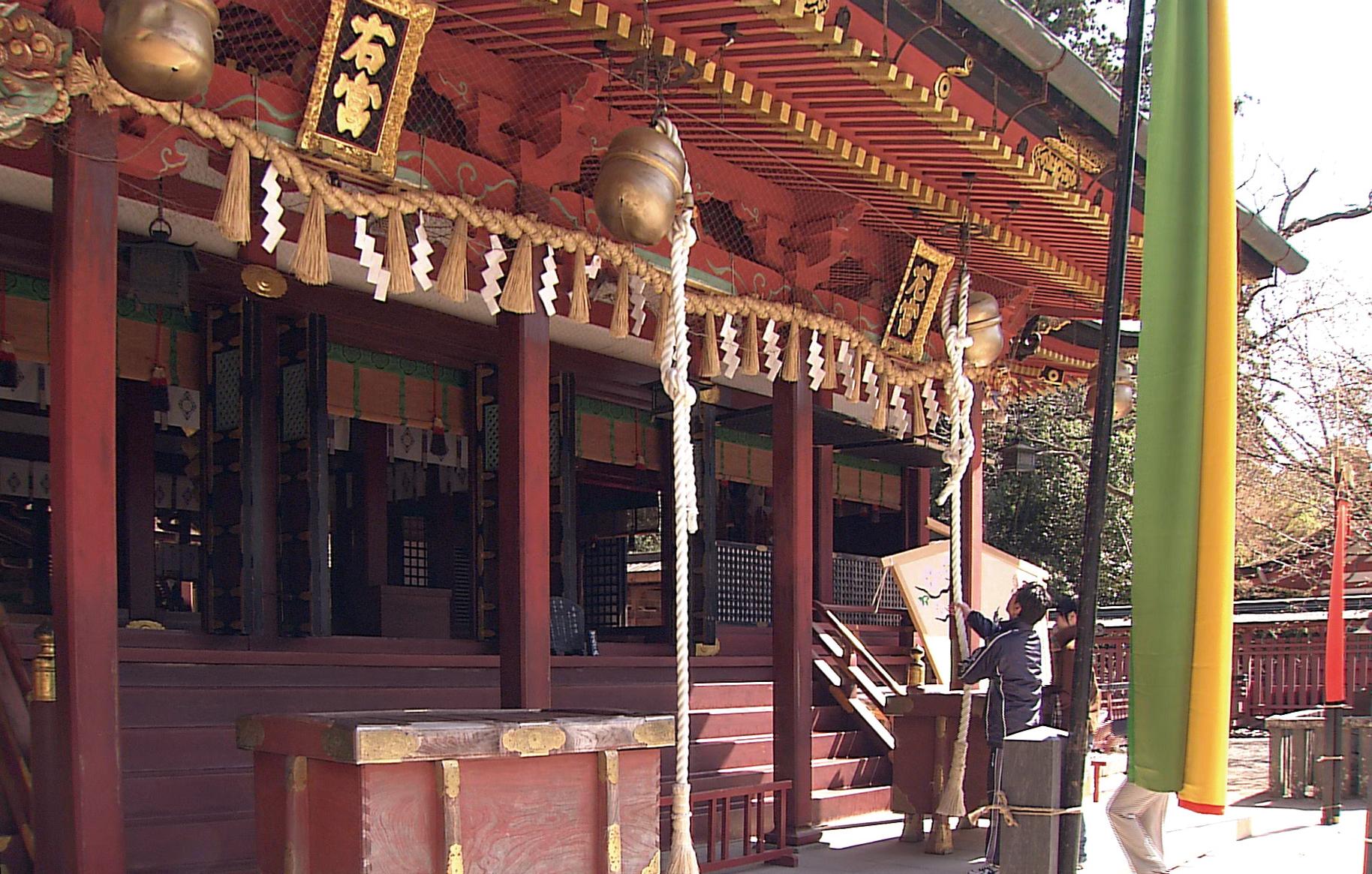 鹽竈神社・拝殿