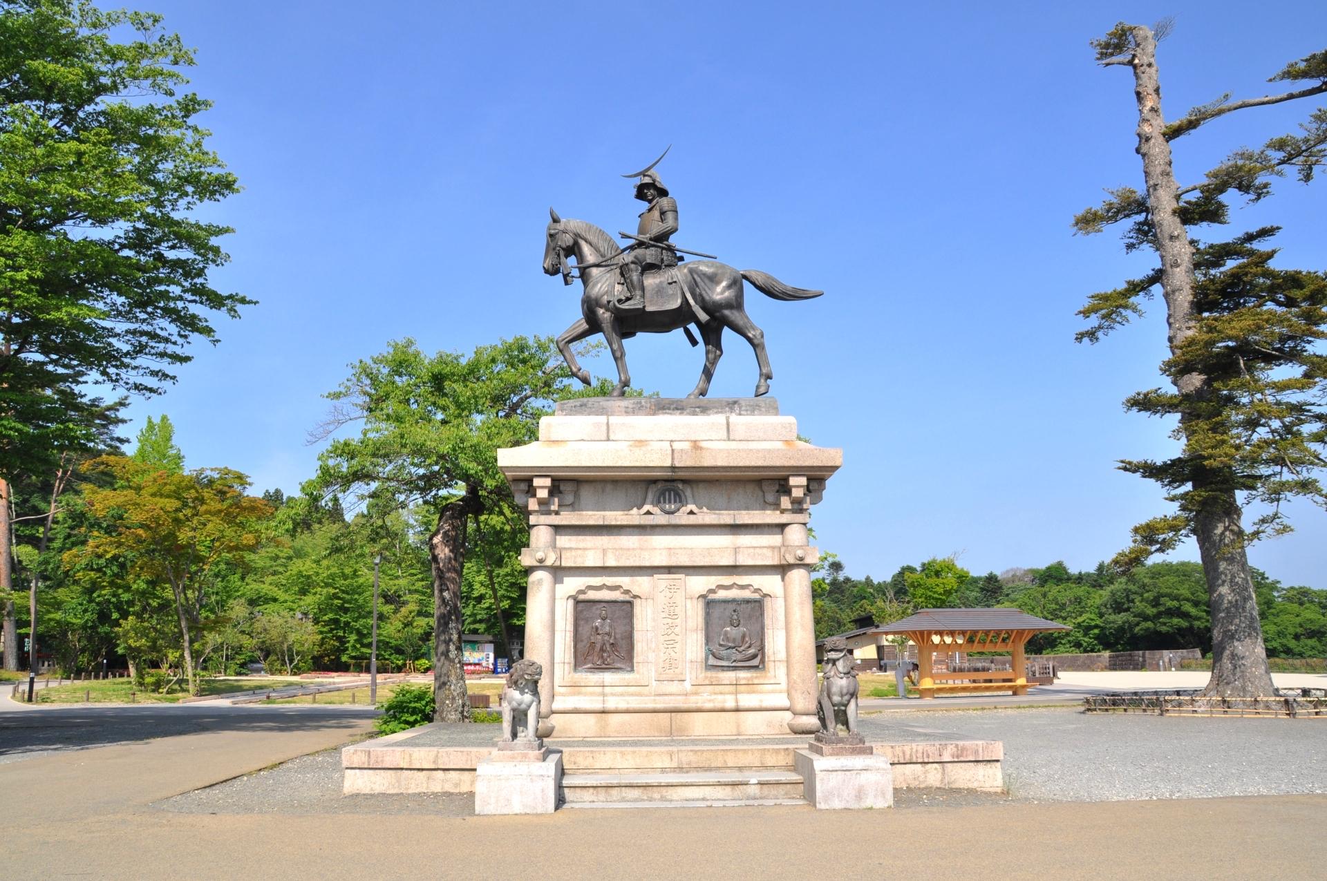 仙台城本丸跡