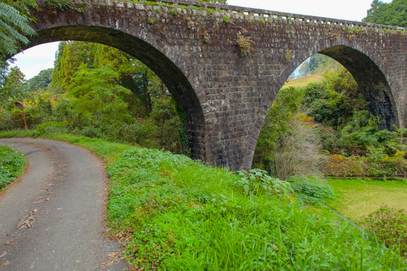 月の木川橋(めがね橋)