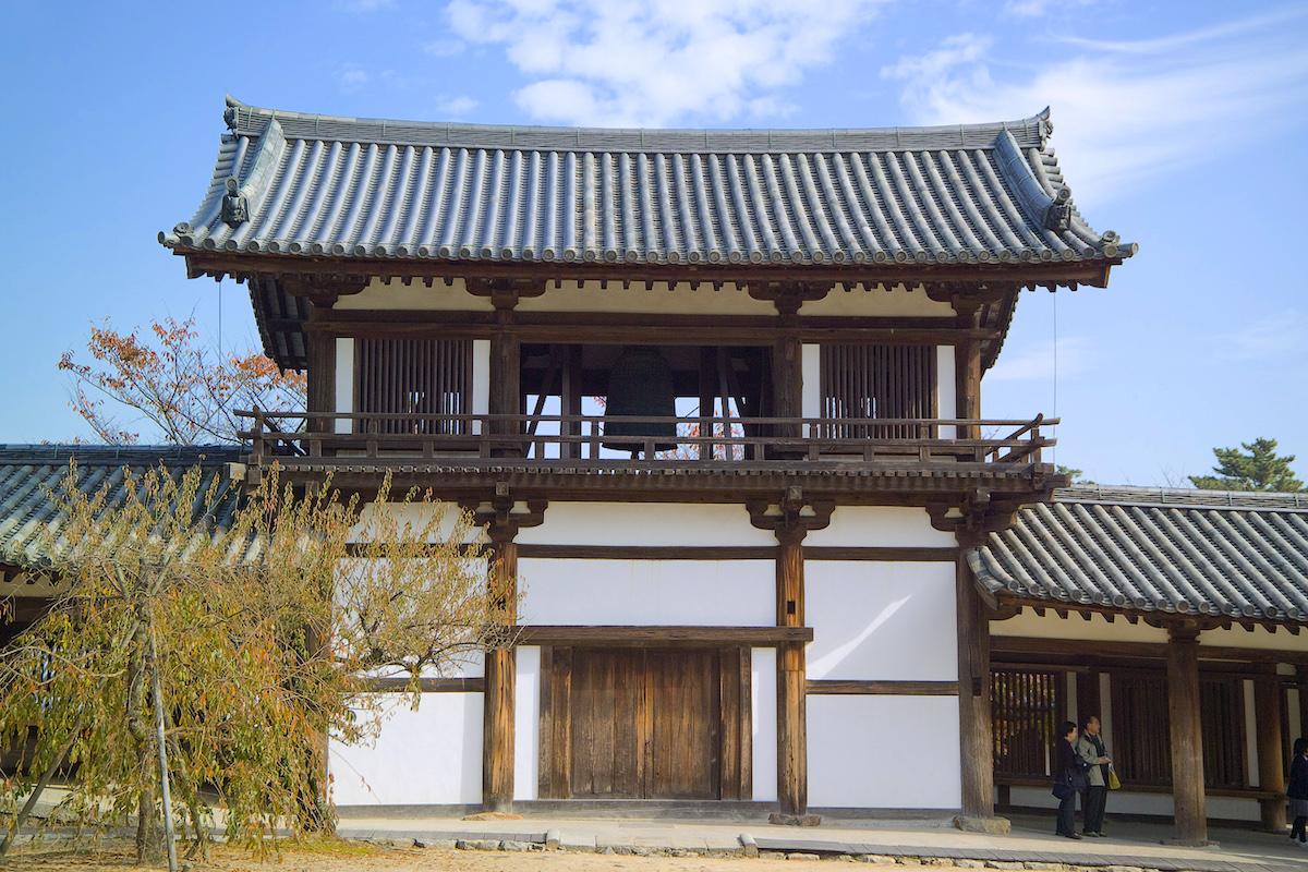 法隆寺・鐘楼 | ニッポン旅マガ...