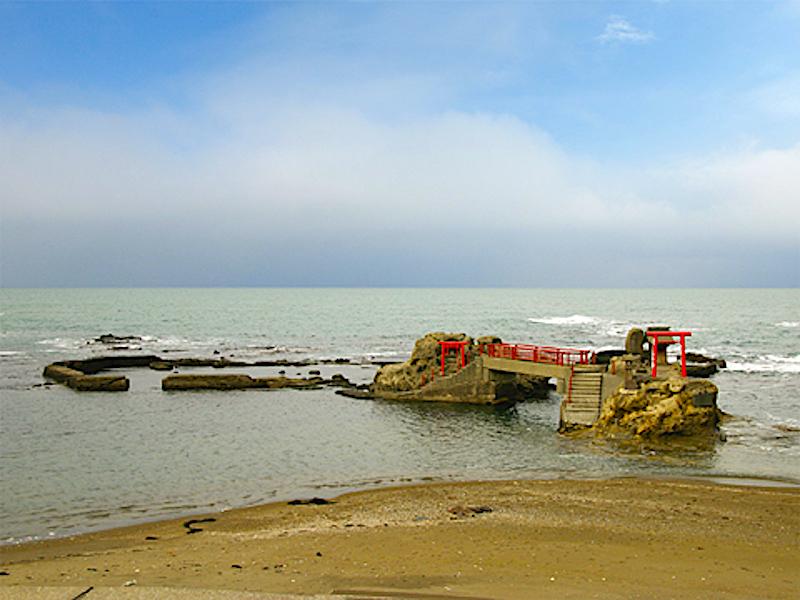 日蓮聖人着岸の地・番神岬