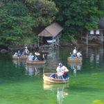 観光たらい舟(矢島体験交流館)