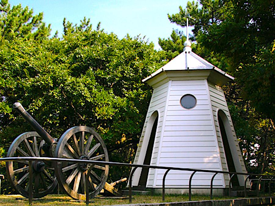 ドン山の大砲(西海岸公園)