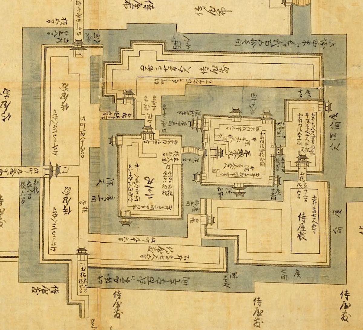 『日本古城絵図 北陸道之部 越後国長岡之城図』