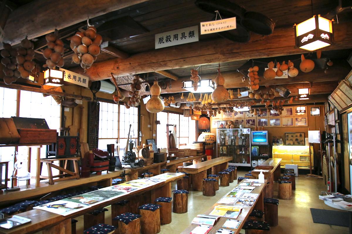 吉乃川・酒造資料館瓢亭