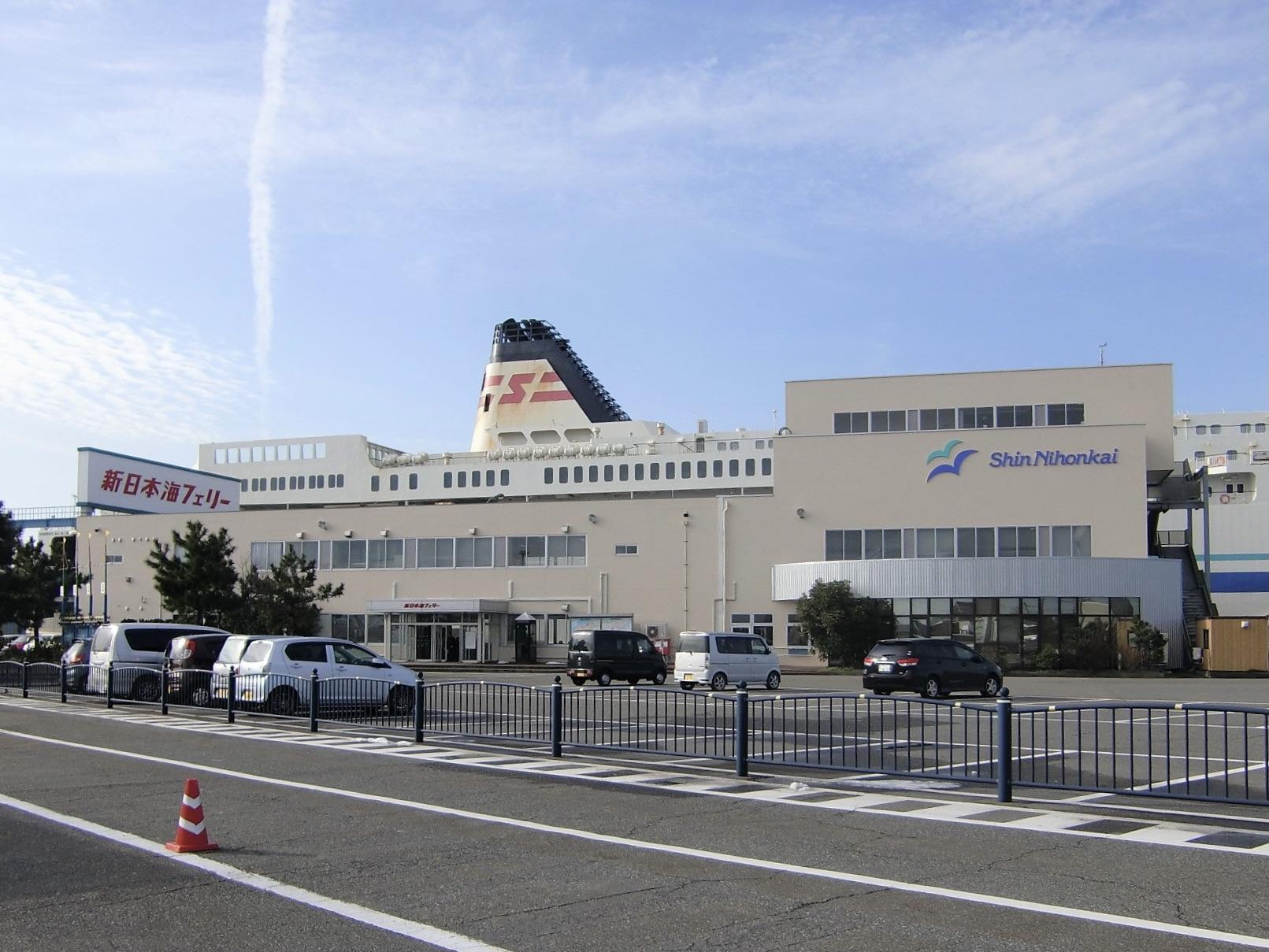 新潟フェリーターミナル