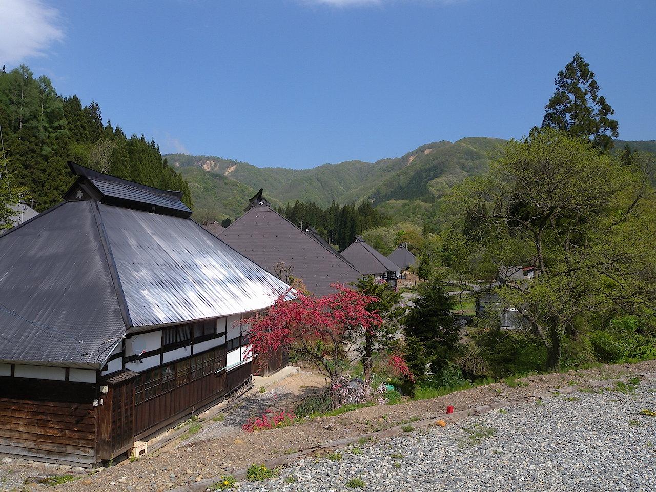 白馬村青鬼伝統的建造物群保存地区