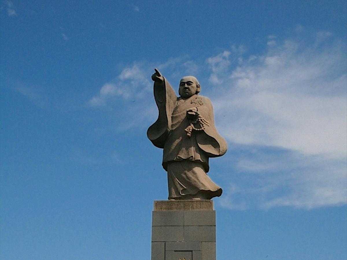 渡唐大師像(空海唐へ船出の地)