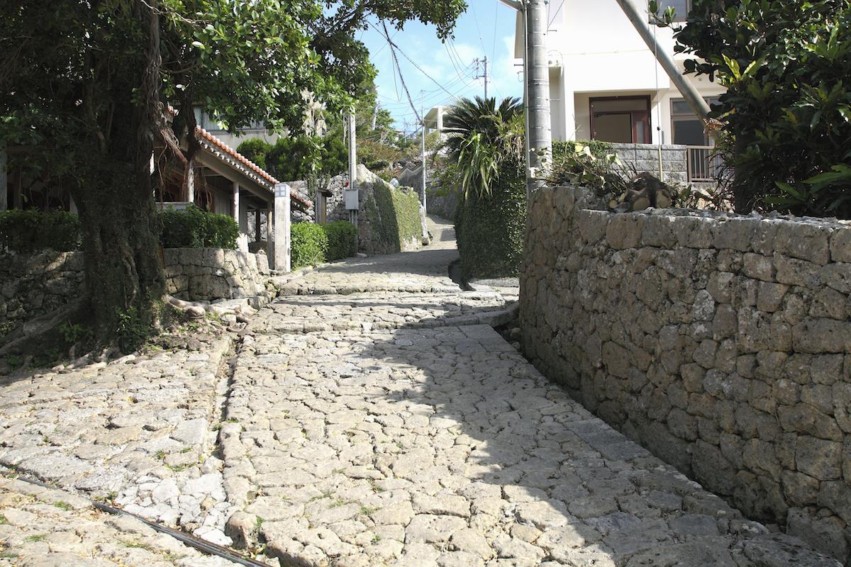 金城町の石畳道